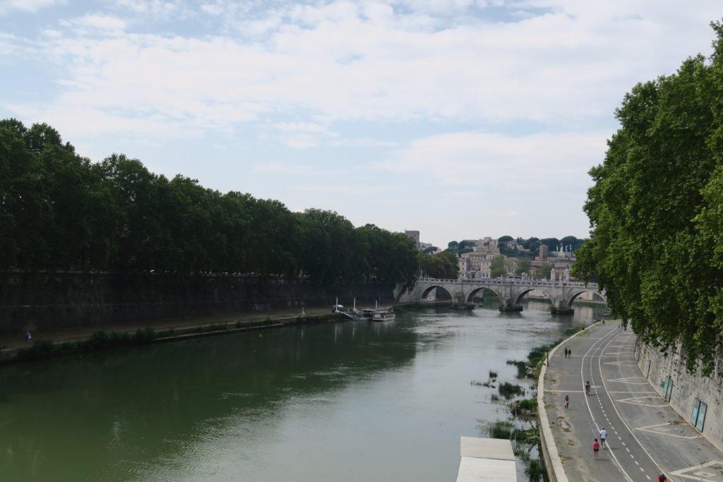Aussicht Ponte Regina Margherita